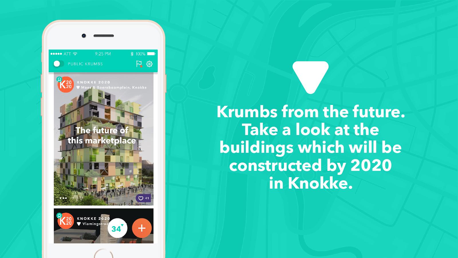 Krumb finally a social app that tells you what matters for App that tells you what is in a picture