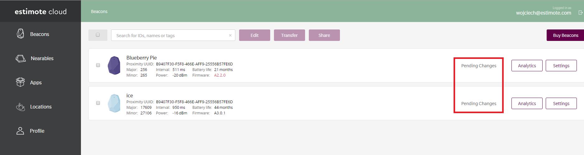 Can I access beacon settings remotely? – Estimote Community Portal